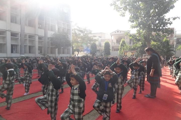 Guru Amar Dass Public School-Yoga Day