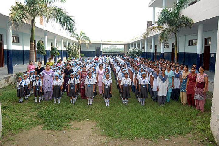 Guru Angad Dev Public School-Assembly