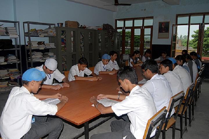Guru Angad Dev Public School-Library