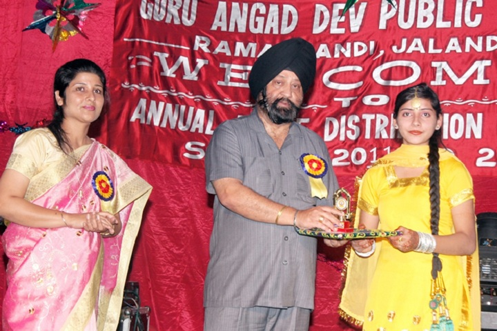 Guru Angad Dev Public School-Prize Distribution