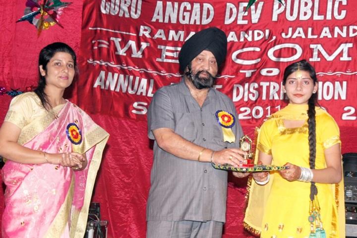 Guru Angad Dev Public School-Prize Distribution