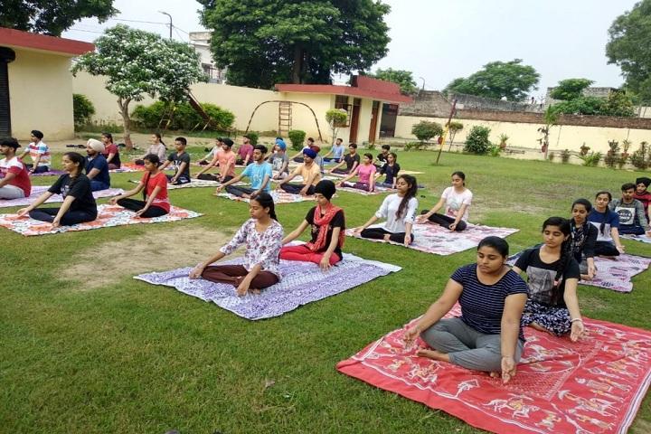 Guru Angad Dev Public School-Yoga Day