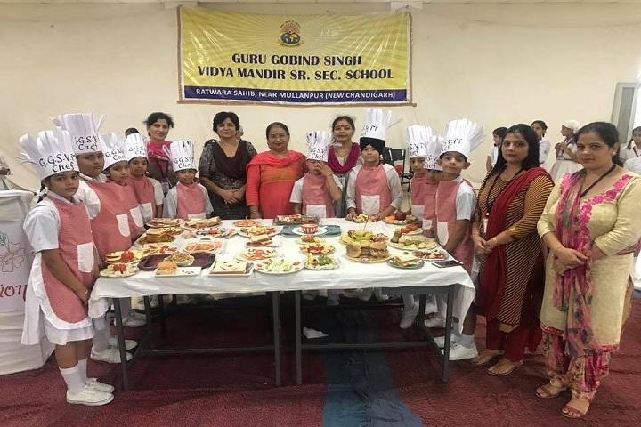 Guru Gobind Singh Vidya Mandir Senior Secondary School-Food Festival