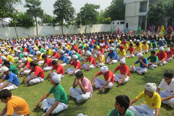 Guru Hargobind Public School-Yoga Day