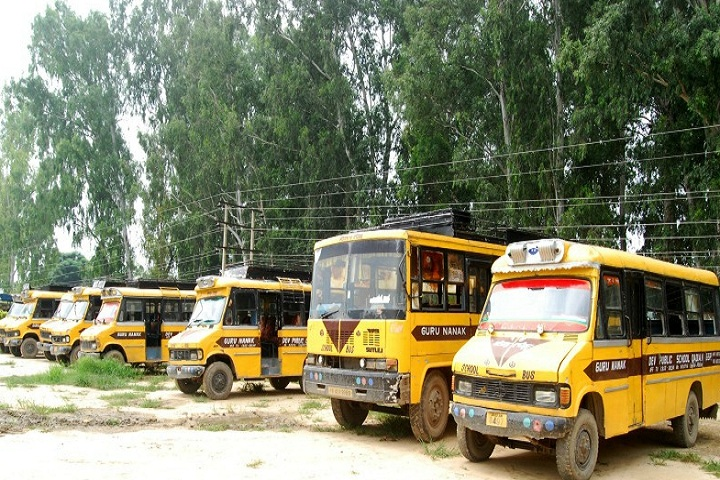 Guru Nanak Dev Public School-Transport