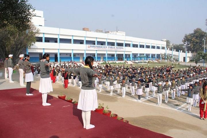 Guru Nanak Dev Public School-Assembly