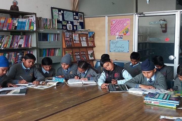 Guru Nanak Dev Public School-Library