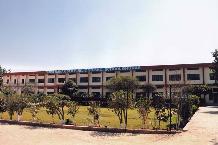 Guru Nanak Dev Public Senior Secondary School-Campus-View full