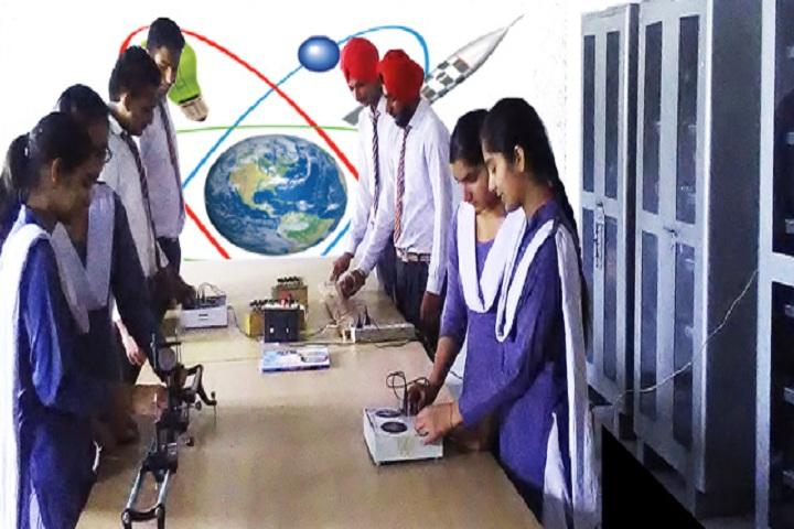 Guru Nanak Dev Public Senior Secondary School-Laboratory physics