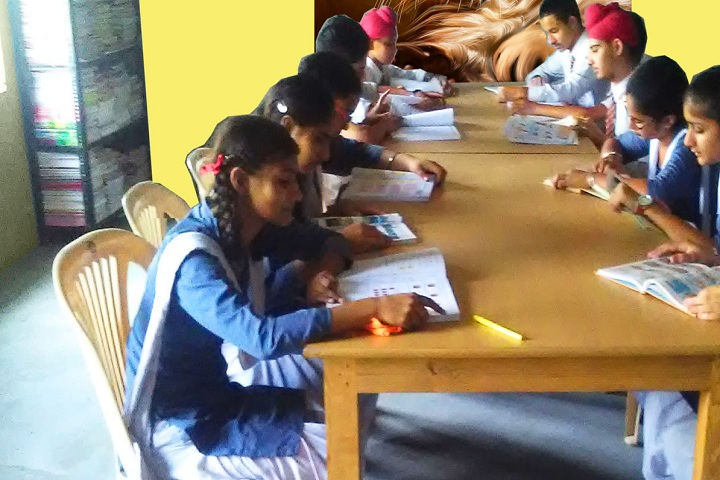 Guru Nanak Dev Public Senior Secondary School-Library