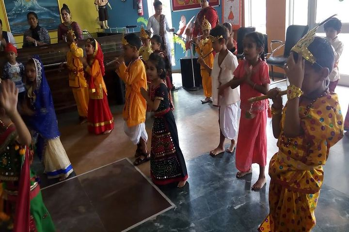 Guru Nanak Foundation Public School-Janmastami Celebration