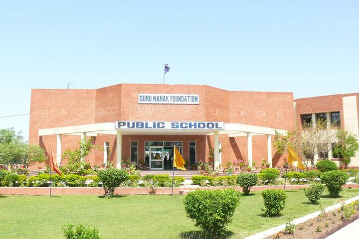 Guru Nanak Foundation Public School-School Building