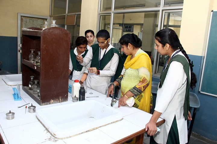 Guru Nanak Foundation Public School-Chemistry lab