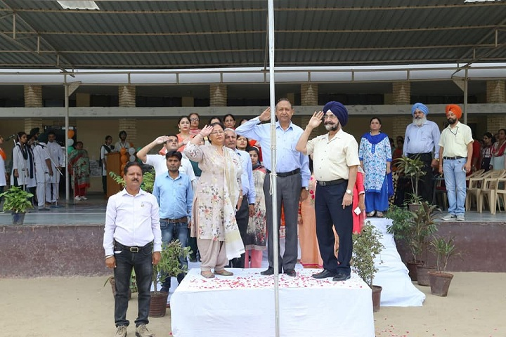 Guru Nanak Foundation Public School-Independence day