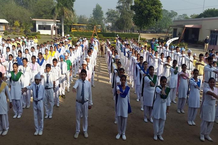 Guru Nanak Mission Public School-Assembly