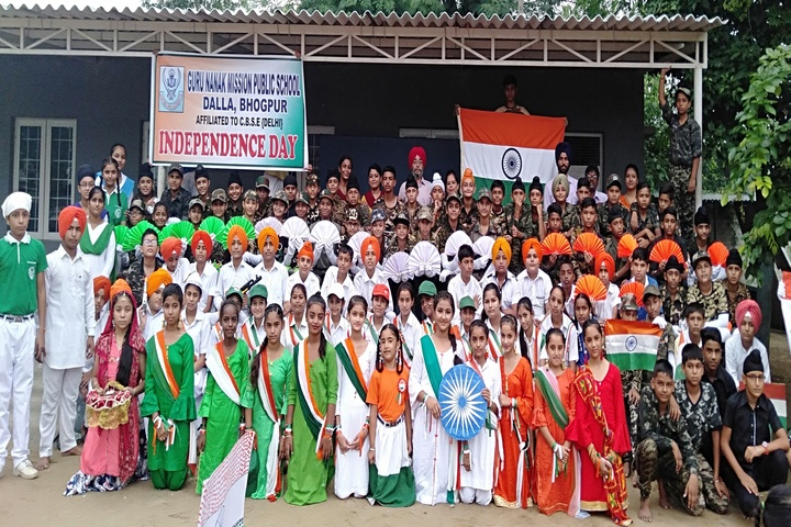 Guru Nanak Mission Public School-Independence Day