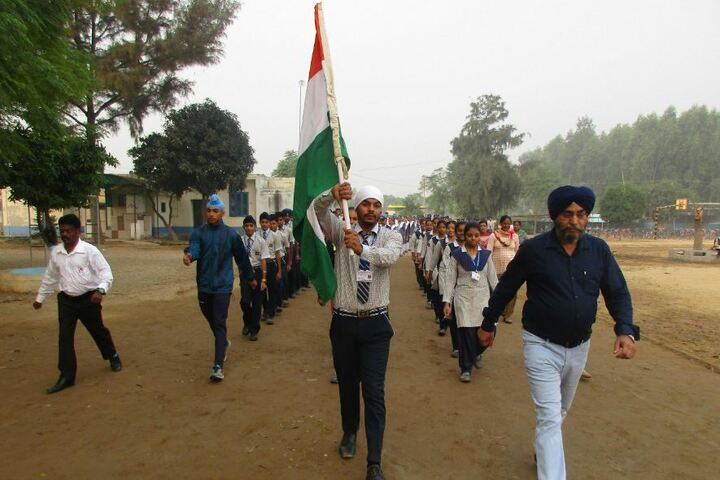 Guru Nanak Mission Public School-Run for Unity Event