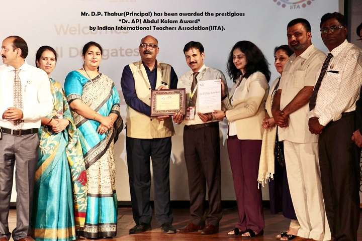 Guru Nanak Model Senior Secondary School-Award Receiving