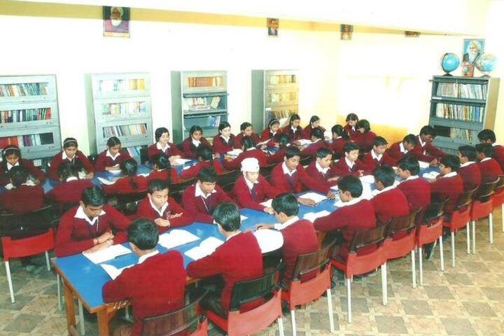 Hyderabad Satyagrah DAV Public School-Library