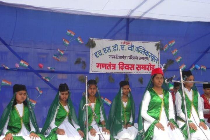 Hyderabad Satyagrah DAV Public School-Republic Day