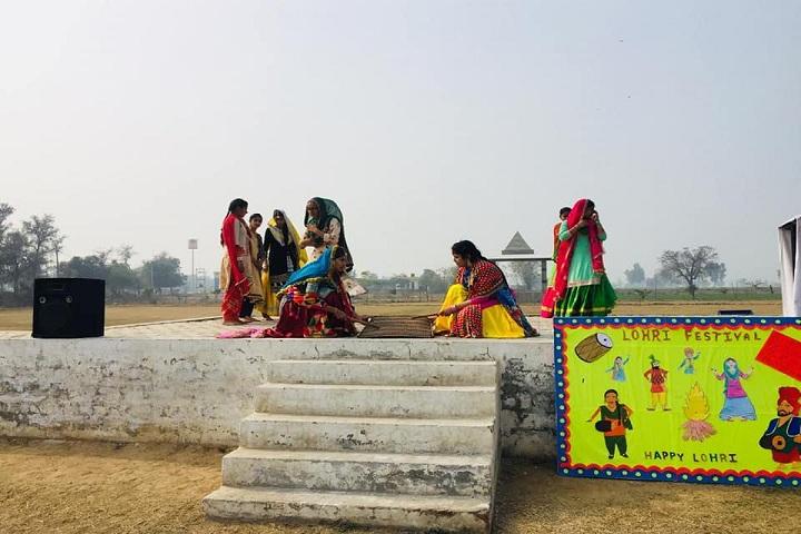 Guru Ram Dass Public School-Lohri Event