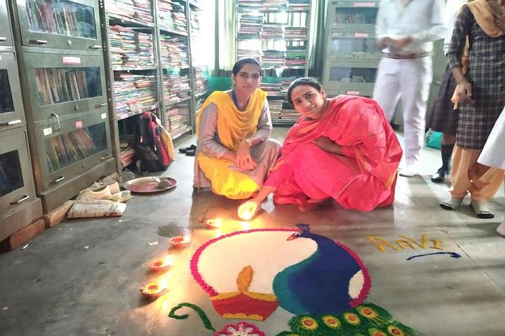 Guru Ram Dass Public School-Rangoli Event