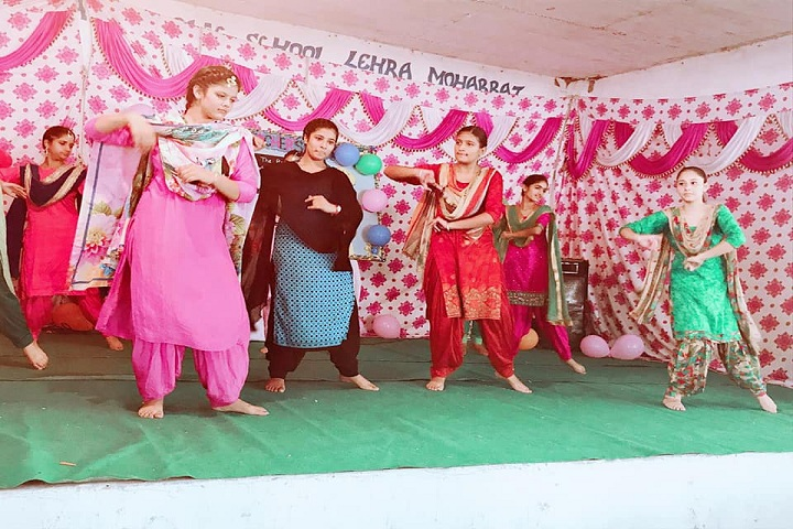 Guru Ram Dass Public School-Cultural Program