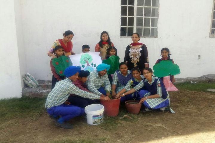 Guru Sagar Public School-Plantation