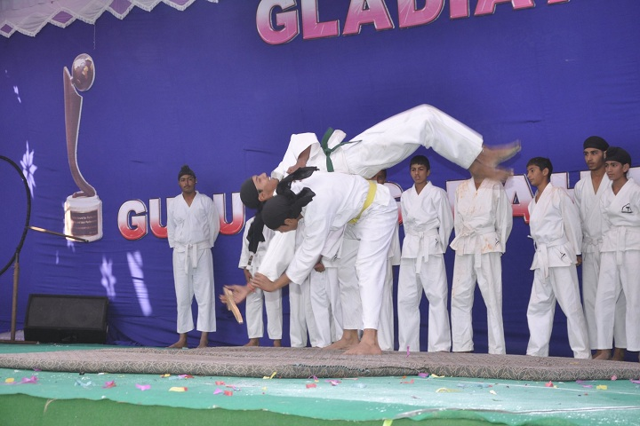 Guru Teg Bahadur Pub School-karate