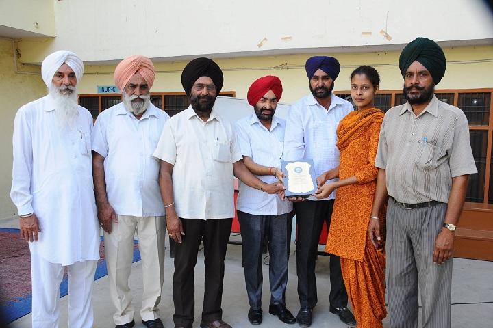 Guru Teg Bahadur Public School-Achievement