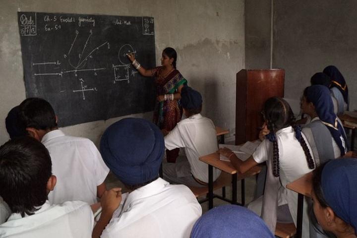 Guru Teg Bahadur Public School-Classroom