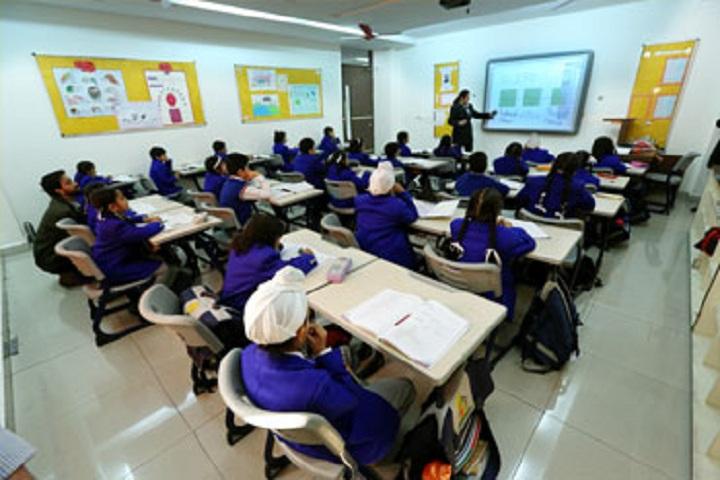 Gurukul World School-Classroom
