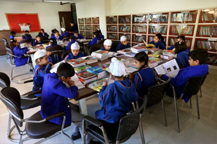 Gurukul World School-Library