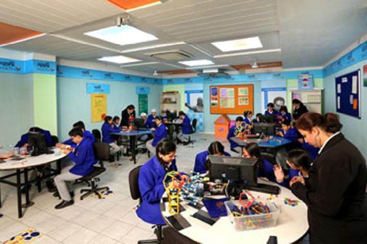 Gurukul World School-Maths Lab