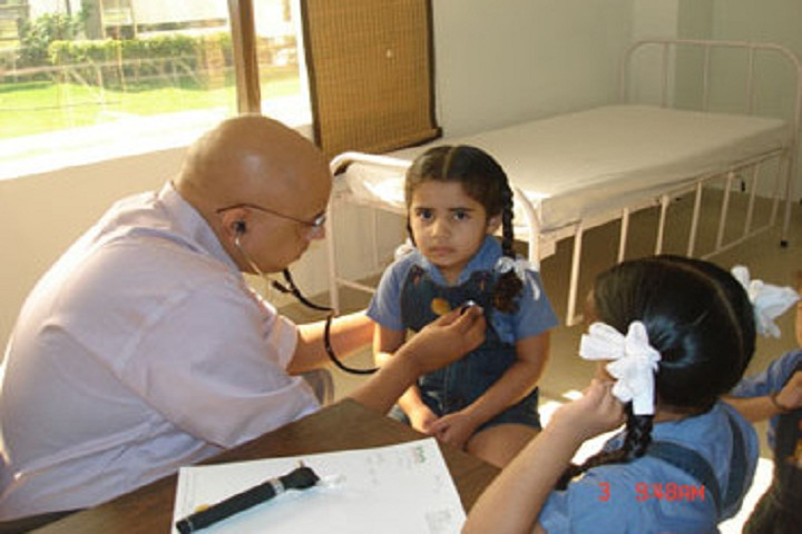 Gurukul World School-Medical Facility