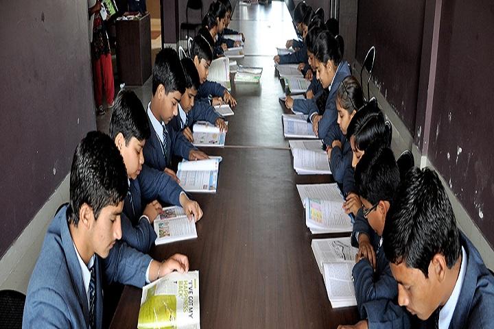 Gyan Ganga International School-Library