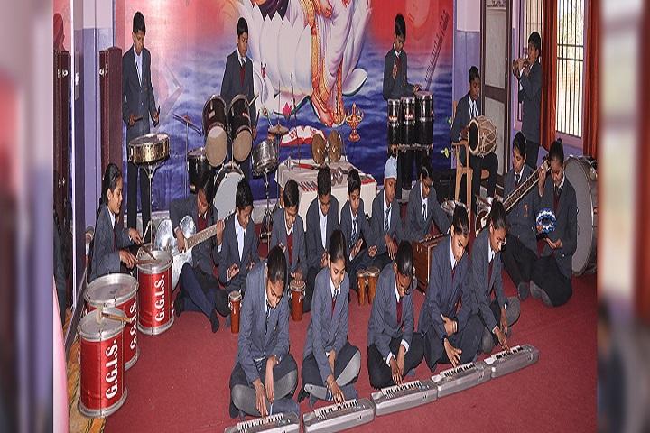 Gyan Ganga International School-Music Room