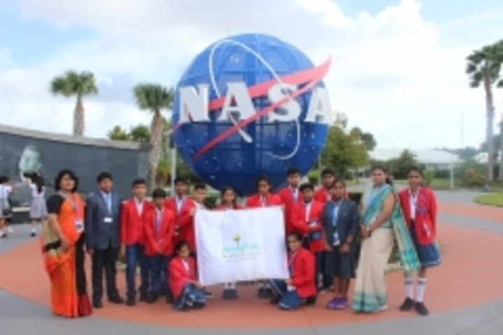 Ambitus World School-NASA Trip