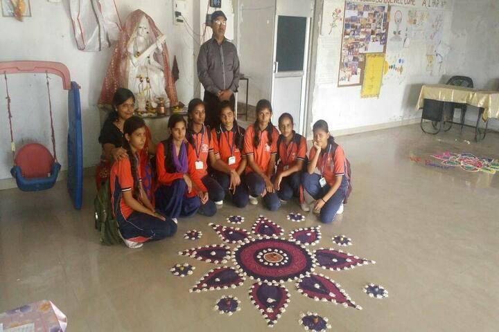 Ichchha Public School-Rangoli Activity