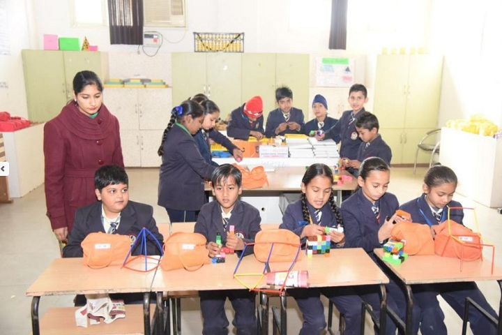 Gyan Gunn Sagar International School-Maths Lab