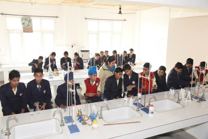 Gyan Gunn Sagar International School-Science Lab