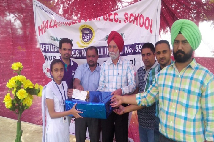 Himalaya Public Senior Secondary School-Prize Distribution