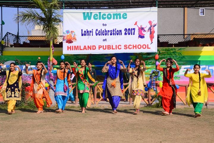 Himland Public School-Lohri Celebration
