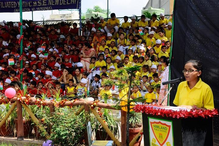 Himland Public School-Speech