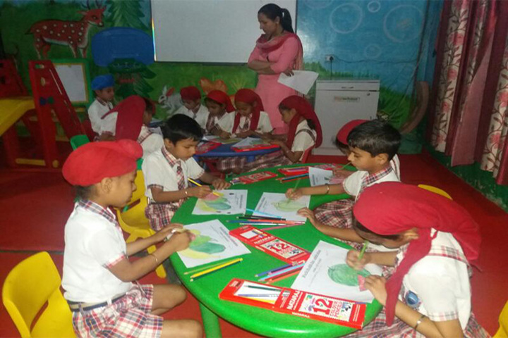 Holy Angel Convent School-Activity Room