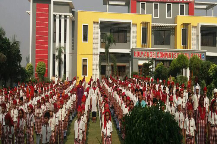 Holy Angel Convent School-Assembly