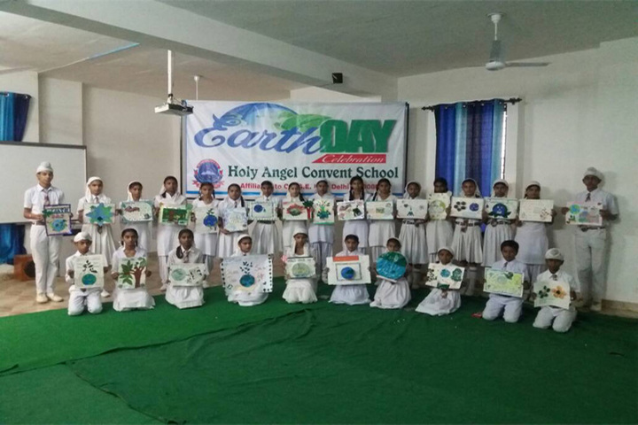 Holy Angel Convent School-Earth Day