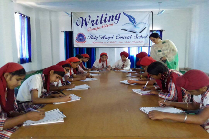 Holy Angel Convent School-Writing Competition