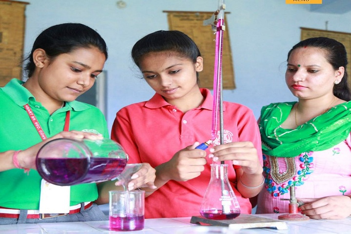 Holy Heart Senior Secondary Convent School-Chemistry Lab