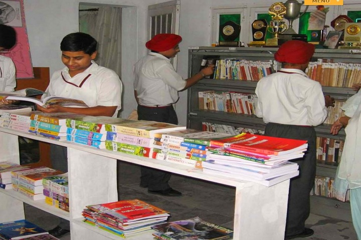 Holy Heart Senior Secondary Convent School-Library